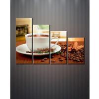 Tranh bộ treo tường cà phê DH717A (kí...