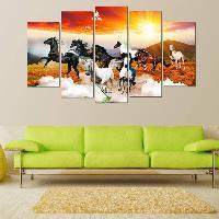 Tuyển album tranh treo phong thủy Ngựa